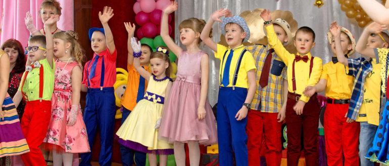 Как одеть ребёнка на выпускной в ретро стиле в детском саду