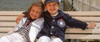 Детская одежда в полоску: актуальные и стильные сочетания