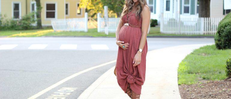 Как составить гардероб беременной женщине летом и осенью