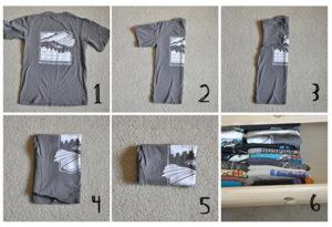 Как аккуратно и правильно сложить детскую одежду