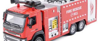 Лучшие игрушечные пожарные машины
